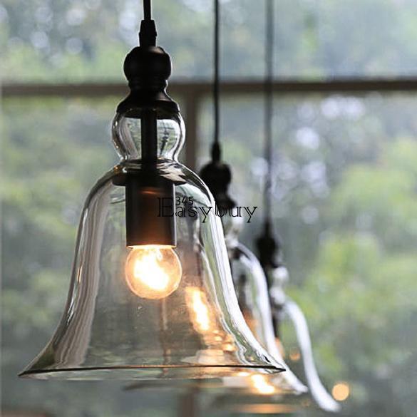 Kitchen Lighting Ebay: Glass Ceiling Light Modern Chandelier Pendant Kitchen
