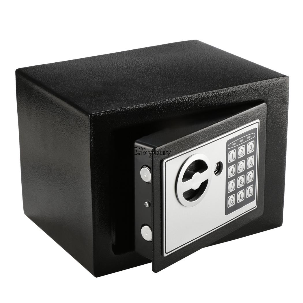 digital electronic safe box keypad lock with hidden lock keys ebay. Black Bedroom Furniture Sets. Home Design Ideas