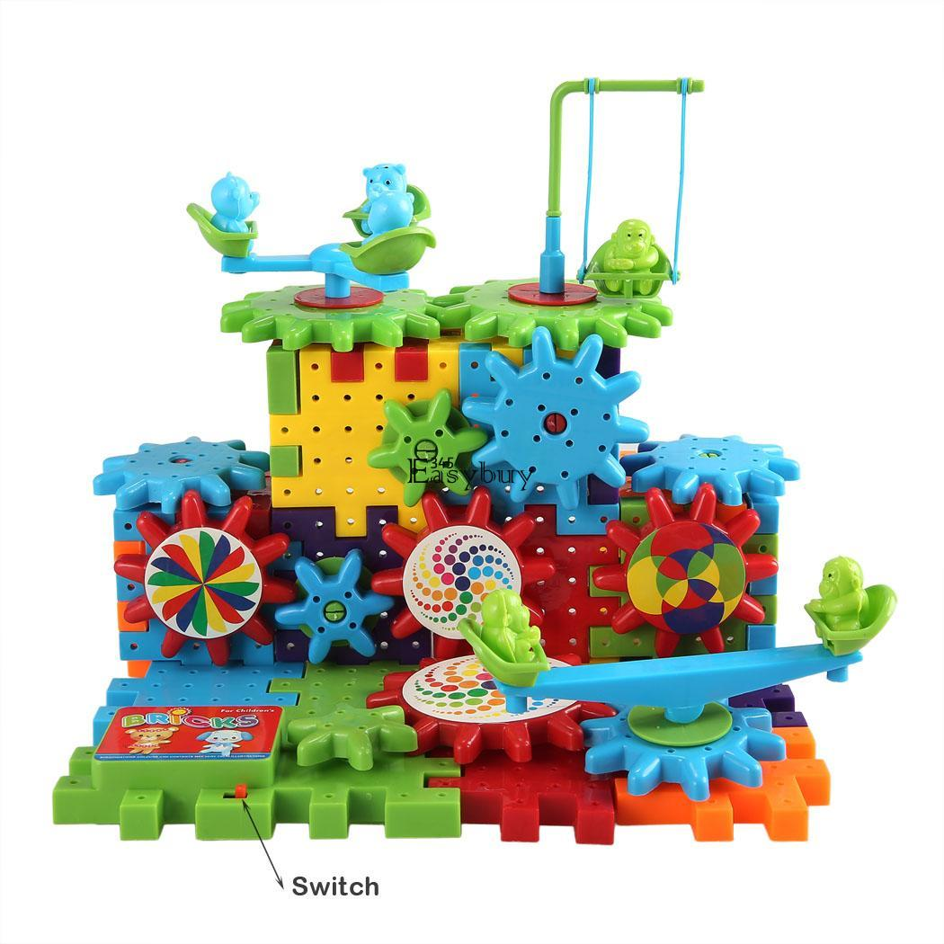 Funny Gears Educational Building Block Toys New Deluxe