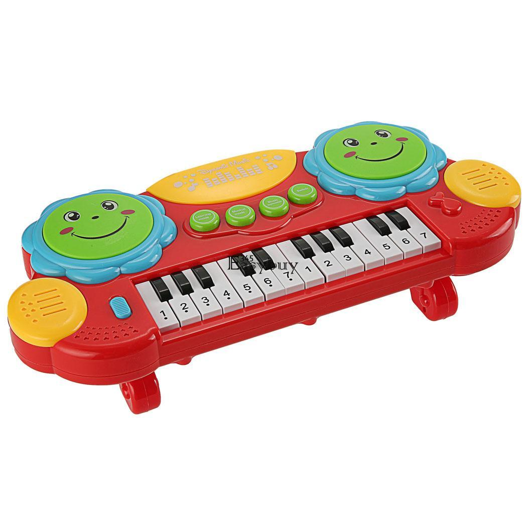 Musical Educational Toys : Baby kids electronic piano educational toy rhyme