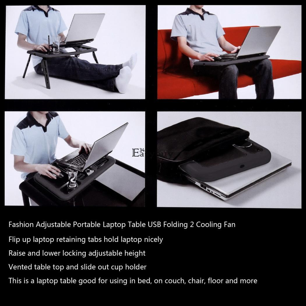 Laptop Lap Desk Computer Table Stand Tray Portable